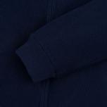 Мужская куртка бомбер Gant Rugger Knitted Sweat Harbor Navy фото- 5