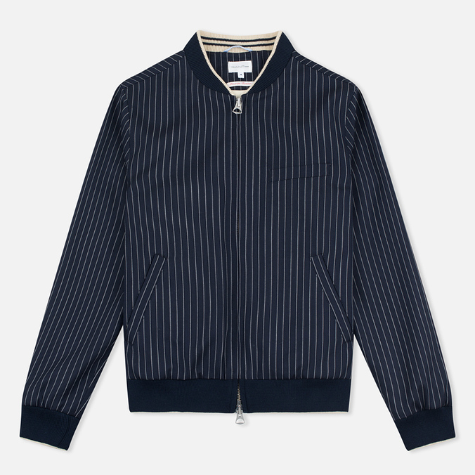 Gant Rugger Pinstriped Men's Bomber Navy