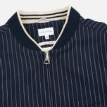 Gant Rugger Pinstriped Men's Bomber Navy photo- 2