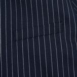 Мужская куртка бомбер Gant Rugger Pinstriped Navy фото- 4
