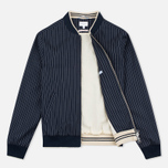 Gant Rugger Pinstriped Men's Bomber Navy photo- 1