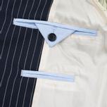 Мужская куртка бомбер Gant Rugger Pinstriped Navy фото- 7