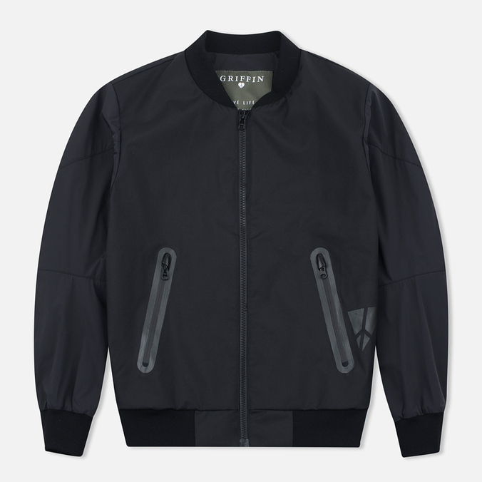 Мужская куртка бомбер Griffin MA-1 Majocchi Black