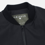 Мужская куртка бомбер Griffin MA-1 Majocchi Black фото- 2