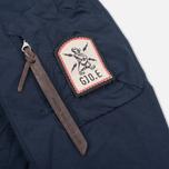 Мужская куртка бомбер GJO.E 1 10B1TFC Dark Navy фото- 4