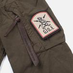 Мужская куртка бомбер Grunge John Orchestra. Explosion 1 10B1TFC Khaki фото- 4