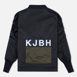 Han Kjobenhavn Parachute Men's Bomber Black photo- 3