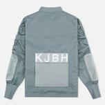 Мужская куртка бомбер Han Kjobenhavn Parachute Grey фото- 3