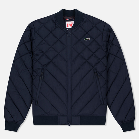 Мужская куртка бомбер Lacoste Live Diamond Quilted Down Navy