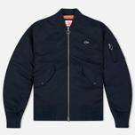 Мужская куртка бомбер Lacoste Live Multipocket Navy фото- 0