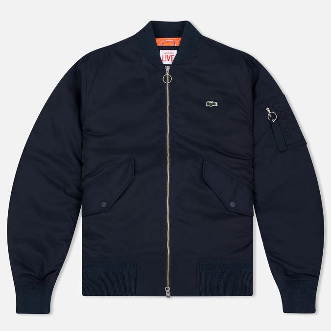 Мужская куртка бомбер Lacoste Live Multipocket Navy