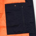 Мужская куртка бомбер Lacoste Live Multipocket Navy фото- 6