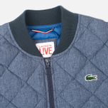 Мужская куртка бомбер Lacoste Live Quilted Down & Feathers Midnight Blue Chine фото- 2