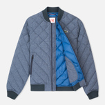 Мужская куртка бомбер Lacoste Live Quilted Down & Feathers Midnight Blue Chine фото- 1