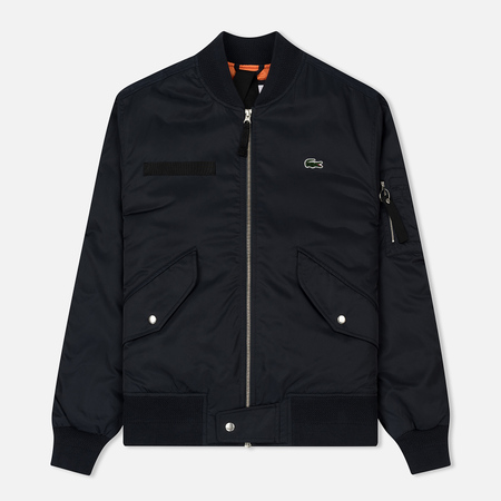 Мужская куртка бомбер Lacoste Live Water-Resistant Quilted Twill Eclipse Blue