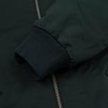 Мужская куртка бомбер Lacoste MA-1 Kelp Green фото- 6