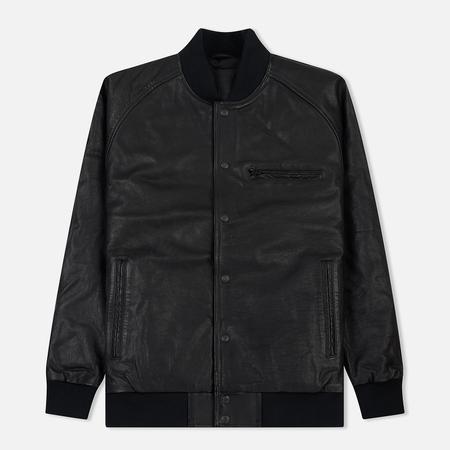 Мужская куртка бомбер Levi's Leather Varsity Black