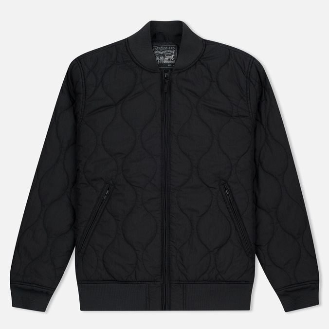 Levi's Thermore Quilted Nightwatch Men's Bomber Black