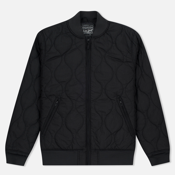 Мужская куртка бомбер Levi's Thermore Quilted Nightwatch Black