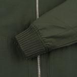 Мужская куртка бомбер Lyle & Scott MA-1 Dark Sage фото- 6