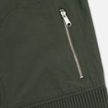 Мужская куртка бомбер Lyle & Scott MA-1 Dark Sage фото- 5