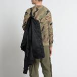 Мужская куртка бомбер maharishi Ergonomic MA Black фото- 8