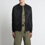Мужская куртка бомбер maharishi Ergonomic MA Black фото- 6