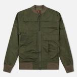 Мужская куртка бомбер Maharishi Upcycled Arctic Rib Jacket Reclaimed 1979 U.S. Army Olive фото- 0