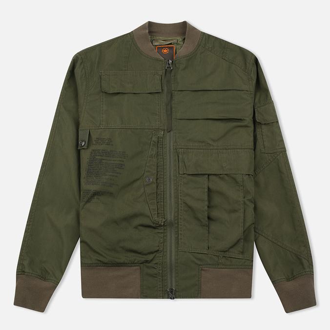 Мужская куртка бомбер Maharishi Upcycled Arctic Rib Jacket Reclaimed 1979 U.S. Army Olive