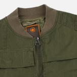 Мужская куртка бомбер Maharishi Upcycled Arctic Rib Jacket Reclaimed 1979 U.S. Army Olive фото- 2