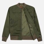 Мужская куртка бомбер Maharishi Upcycled Arctic Rib Jacket Reclaimed 1979 U.S. Army Olive фото- 1
