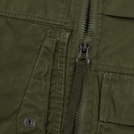 Мужская куртка бомбер Maharishi Upcycled Arctic Rib Jacket Reclaimed 1979 U.S. Army Olive фото- 3