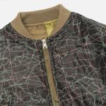 Мужская куртка бомбер Maharishi TriPadded Reversible MA-1 Olive фото- 6