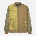 Мужская куртка бомбер Maharishi TriPadded Reversible MA-1 Olive фото- 0