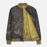 Мужская куртка бомбер Maharishi TriPadded Reversible MA-1 Olive фото- 4