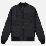 Мужская куртка бомбер maharishi Upcycled Liner O/D Black фото- 0