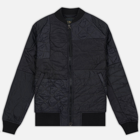 Мужская куртка бомбер maharishi Upcycled Liner O/D Black