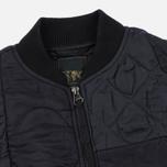 Мужская куртка бомбер maharishi Upcycled Liner O/D Black фото- 1