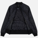 Мужская куртка бомбер maharishi Upcycled Liner O/D Black фото- 2