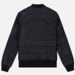 Мужская куртка бомбер maharishi Upcycled Liner O/D Black фото- 4