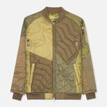 Мужская куртка бомбер Maharishi Upcycled MA-1 Olive фото- 0