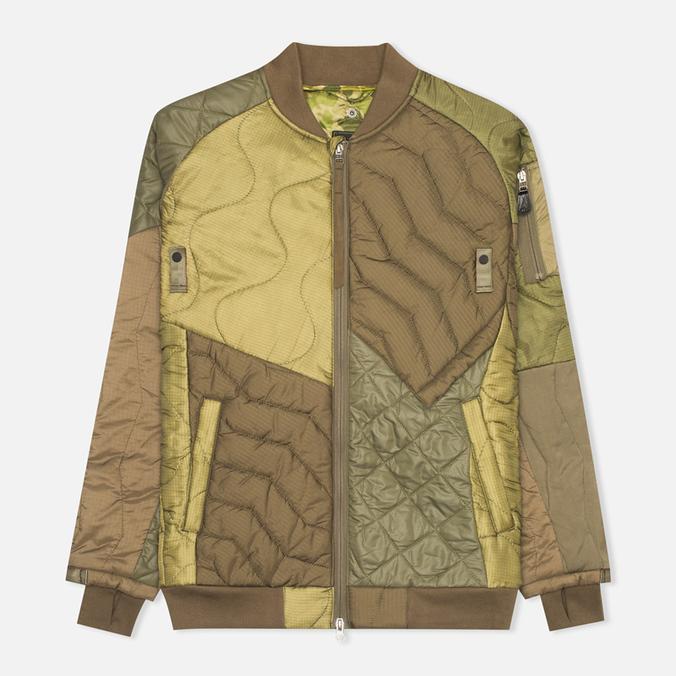 Мужская куртка бомбер Maharishi Upcycled MA-1 Olive