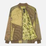 Мужская куртка бомбер Maharishi Upcycled MA-1 Olive фото- 1
