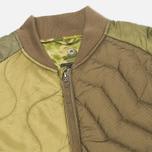 Мужская куртка бомбер Maharishi Upcycled MA-1 Olive фото- 3