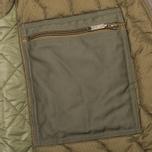 Мужская куртка бомбер Maharishi Upcycled MA-1 Olive фото- 7