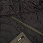 maharishi Upcycled MA-1 Overdyed Men's Bomber Black photo- 9