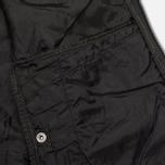 Мужская куртка бомбер Maharishi Upcycled MA-1 Overdyed Black фото- 10