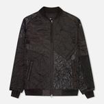 Мужская куртка бомбер Maharishi Upcycled MA-1 Overdyed Black фото- 0