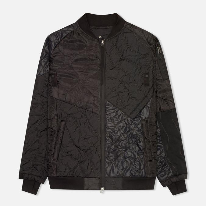 Мужская куртка бомбер Maharishi Upcycled MA-1 Overdyed Black