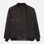 Мужская куртка бомбер Maharishi Upcycled MA-1 Overdyed Black фото- 1